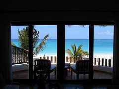 maroma resort balcony view