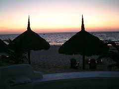 maroma resort cabana nightfall