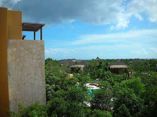 Mayakoba view